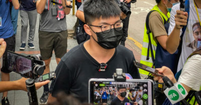 Ridiculous contradiction: CCP jails Hong Kong activist for covering his face while forcing masks because of virus