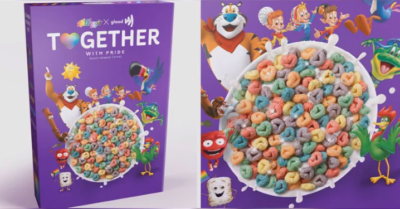 LGBT bigotry goes for kids: Kellogg launches an 'inclusive' cereal where kids choose their preferred pronoun