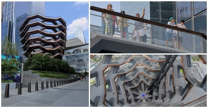 Teen boy leaped to his death from Hudson Yards Vessel: The fourth suicide in 2 years