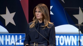 "The BL News—Melania Trump closes her ""Be Best"" Initiative with a message to the media"