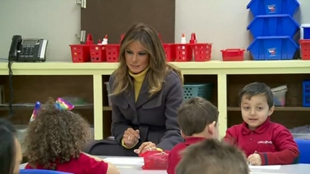 "The BL News—The First Lady Melania Trump kicks off three State ""Be Best"" childhood initiative"