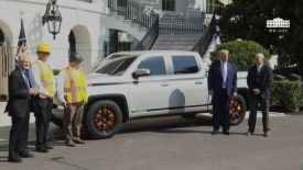President Trump delivers remarks with the Lordstown motors 2021 endurance
