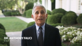 Dr. Anthony Fauci's message for college students