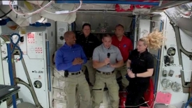 'It's surreal': First Black astronaut on long-term stay at ISS