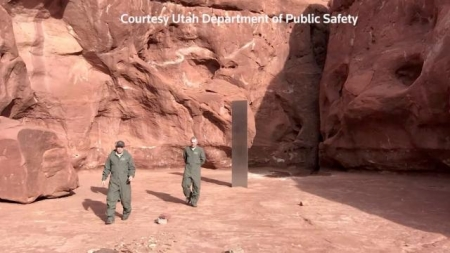 Mystery of the metal monolith found in Utah